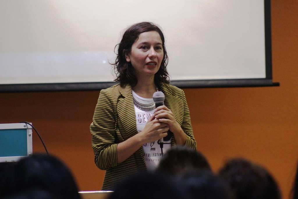 La realizadora Tijuanense Itzel Martínez del Cañizo